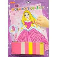 3D mozaika Princezná