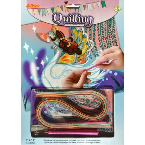 Quilling - Labuť