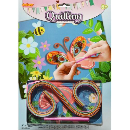 Quilling - Motýľ