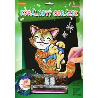 Flitrový obrázok - Mačka