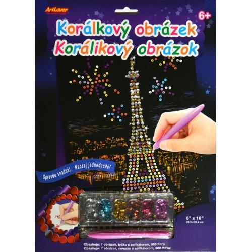 Flitrový obrázok - Eiffelova veža