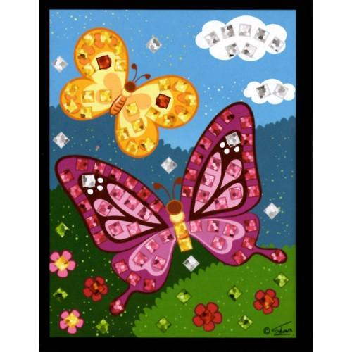 Mini mozaika - motýle