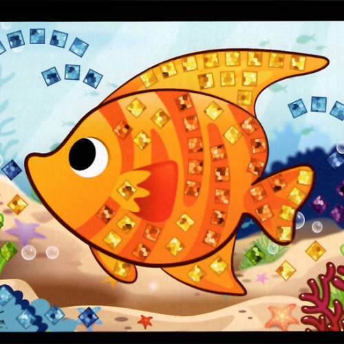 Mini mozaika - ryba