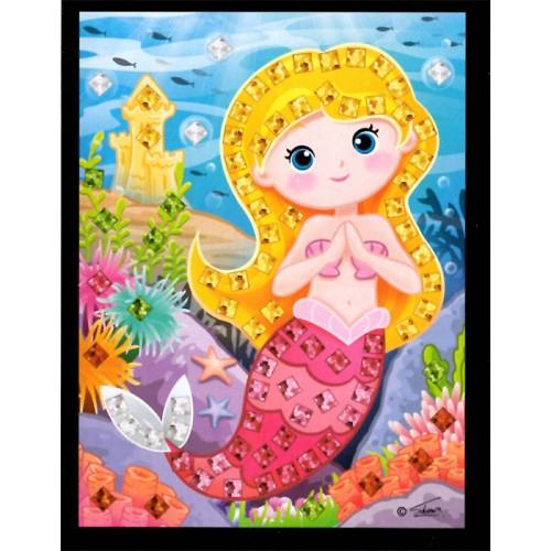Mini mozaika - morská víla1