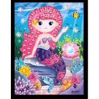 Mini mozaika - morská víla2