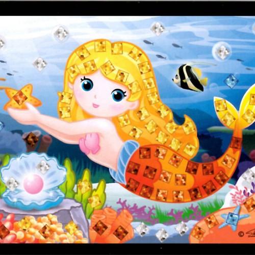 Mini mozaika - morská víla3