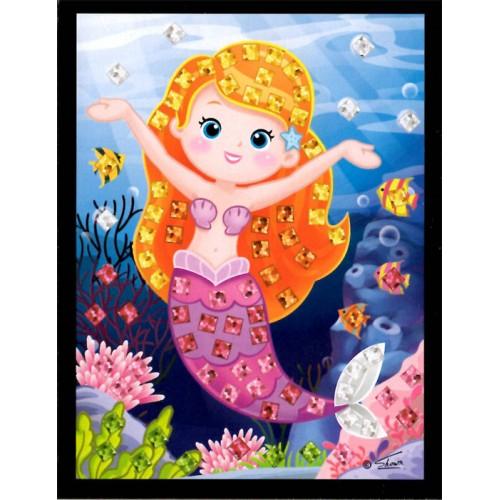 Mini mozaika - morská víla4