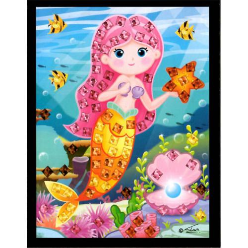 Mini mozaika - morská víla5