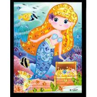Mini mozaika - morská víla6