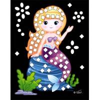 Mini trblietavá mozaika - víla6