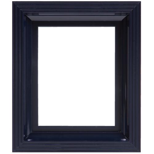 Plastový rám čierny
