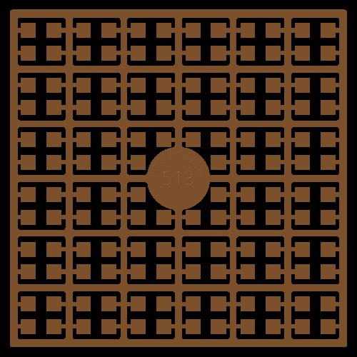 513 pixel štvorec